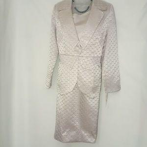 3pc Ladies Moshita Couture skirt suit